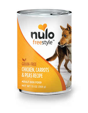 Nulo Freestyle Chicken, Carrots & Peas Recipe for Dogs 13oz Can