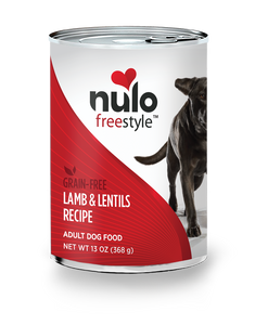 Nulo Freestyle Lamb & Lentils Recipe for Dogs 13oz Can