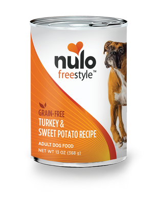 Nulo Freestyle Turkey & Sweet Potato Recipe for Dogs 13oz Can