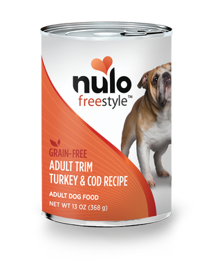 Nulo Freestyle Adult Trim Turkey & Cod Recipe for Dogs 13oz Can