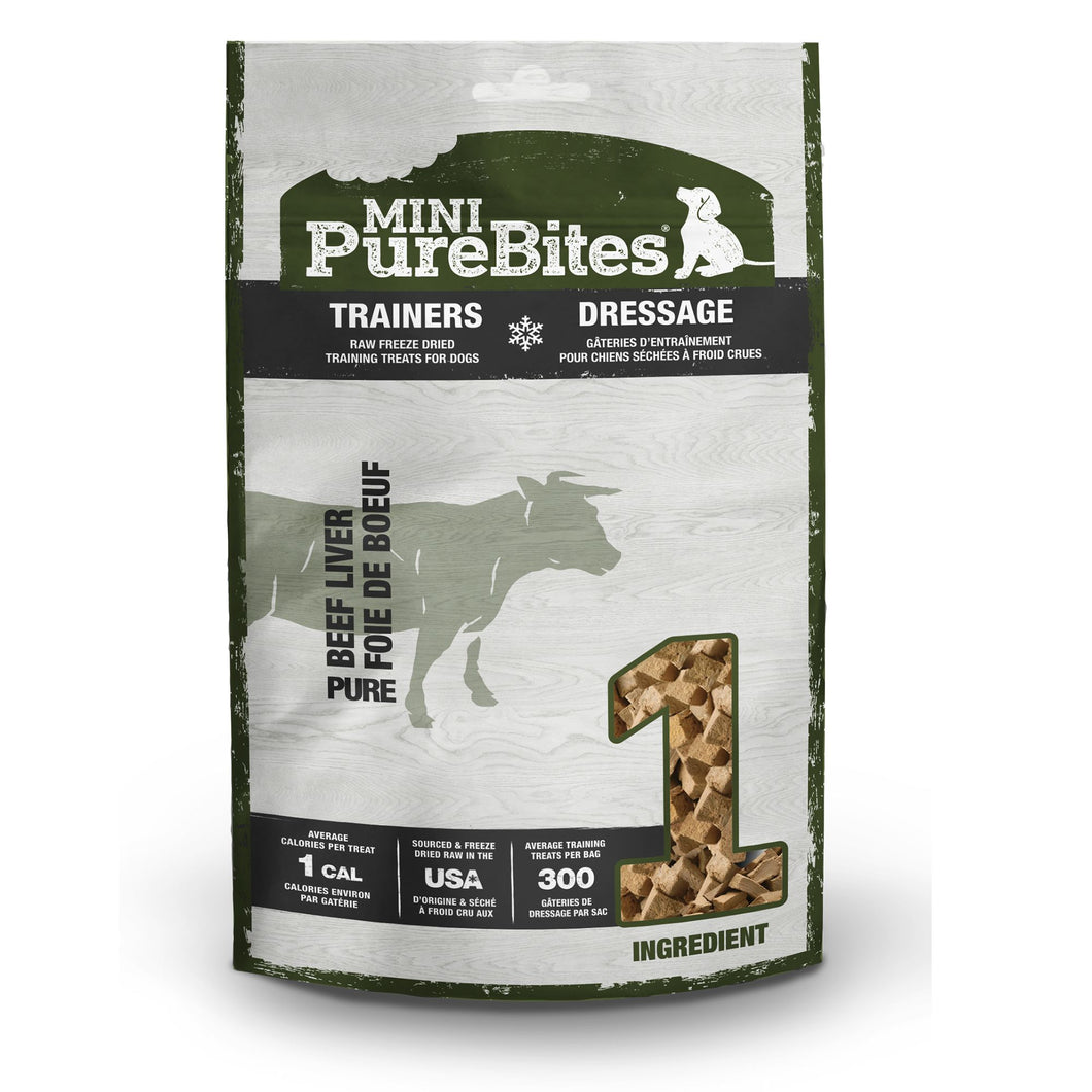 PureBites Mini Trainers Beef Liver 85g
