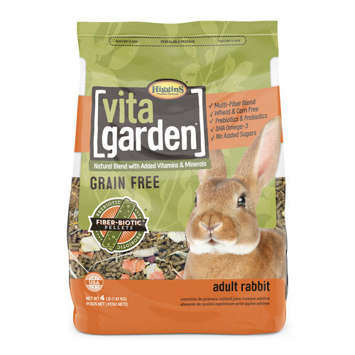 Higgins Vita Garden Rabbit - 4 LB