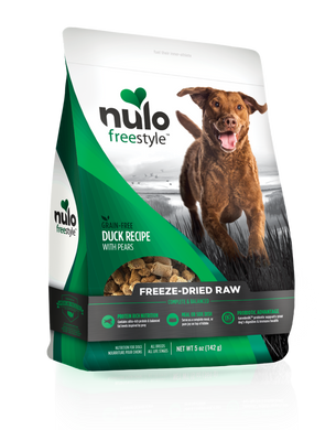 Nulo Freestyle Freeze-Dried Raw Duck with Pears for Dogs 5oz