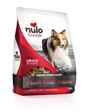 Nulo Freestyle Freeze-Dried Raw Lamb with Raspberries for Dogs