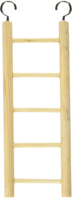 living world wooden ladder - 5 steps