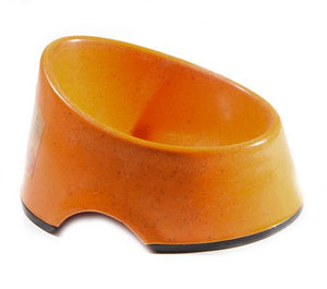 Define Planet Hi Back Bowl - Orange