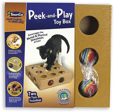 SMART CAT Peek & Play Toy Box