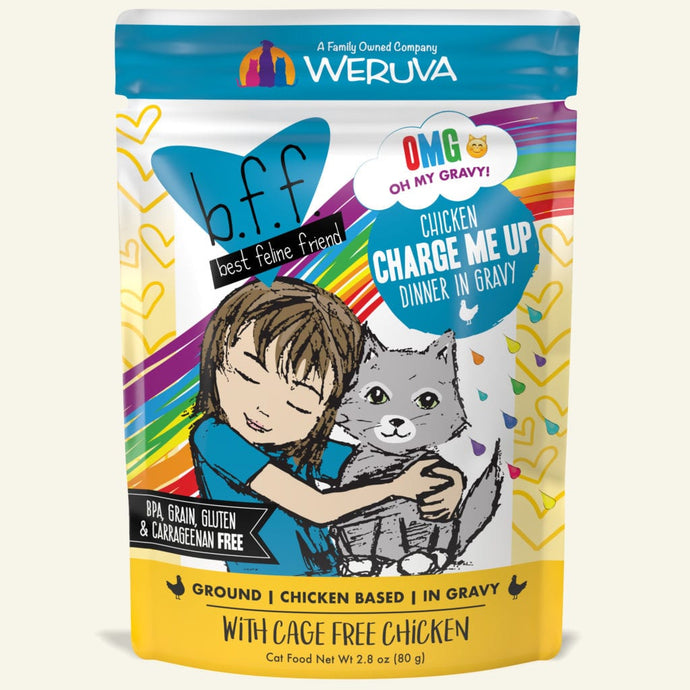 Weruva BFF OMG Chicken Charge Me Up for Cats 3oz