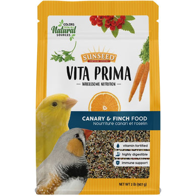 2lb Sunseed Vita Prima Canary & Finch Food