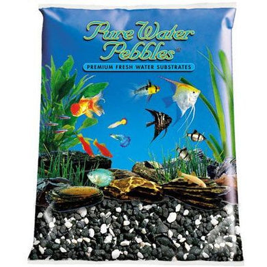 Pure Water Pebbles Salt/Pepper Gravel 5lb bag