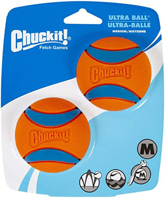 Canine Hardware Ultra Ball 2pk Medium