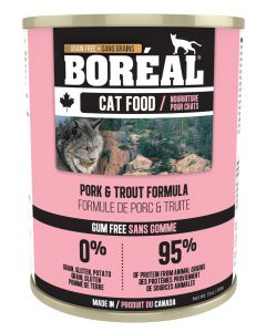Boréal Pork & Trout for Cats 369g