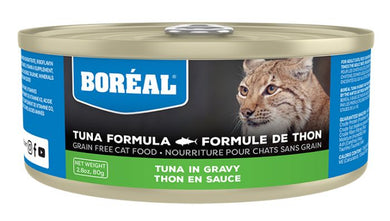Boréal Tuna Red Meat in Gravy for Cats 80g