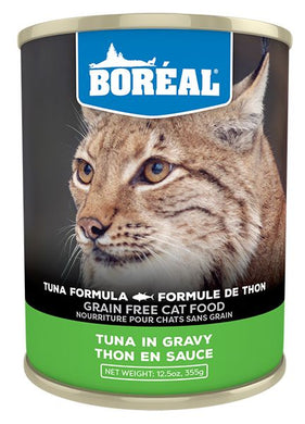 Boréal Tuna Red Meat in Gravy for Cats 355g