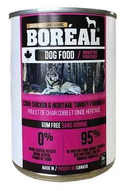 Boréal Cobb Chicken & Heritage Turkey Formula for Dogs 369g