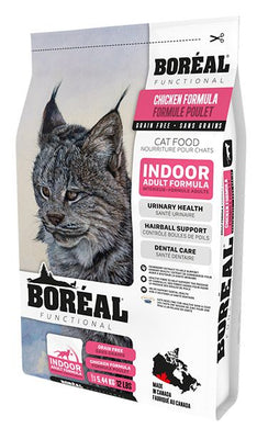Boréal Functional Indoor Cat Chicken for Cats 2.26kg