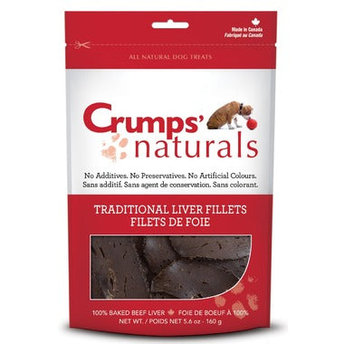 75g Crumps Traditional Liver Fillets