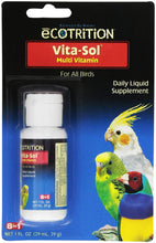 Load image into Gallery viewer, eCOTRITION Vita-Sol Multi-Vitamin for Birds, 1-Ounce