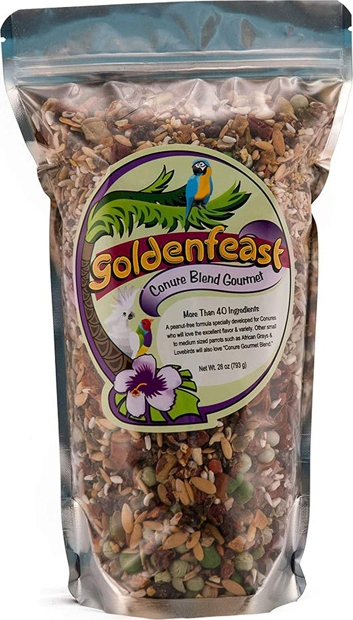 Goldenfeast Conure Gourmet 28oz