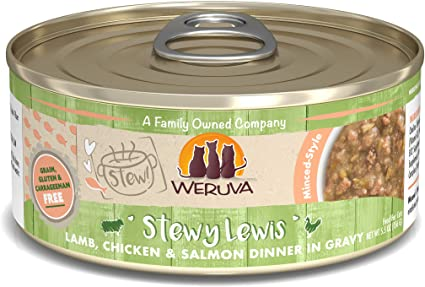 Weruva Stews Stewy Lewis for Cats 5.5oz