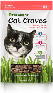 3oz Pet Greens Cat Treats Savory Salmon