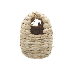 Living World Maize Peel Bird Nest for Finches - Small