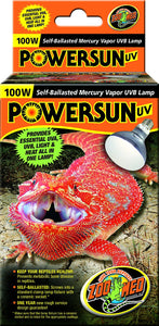 ZooMed PowerSun - 100w UVA/UVB