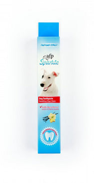 All for Paws Sparkle Toothpaste, Vanilla Ginger Flavour, 2.1oz