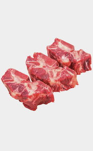 3lb Tollden Farms Beef Neck Bones Medium