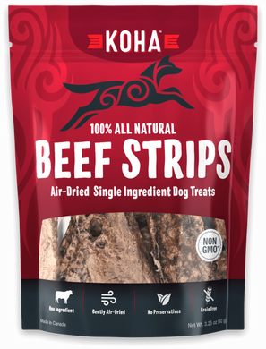 KOHA Air Dried Beef Strips 3.25oz