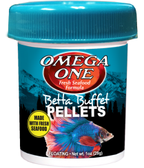 Omega One Betta Pellets 1 oz