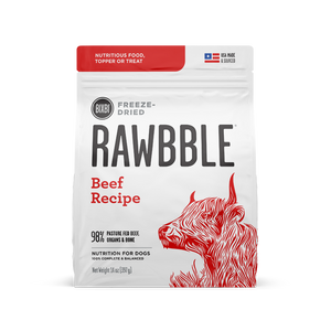 14oz Rawbble FD Beef for Dogs