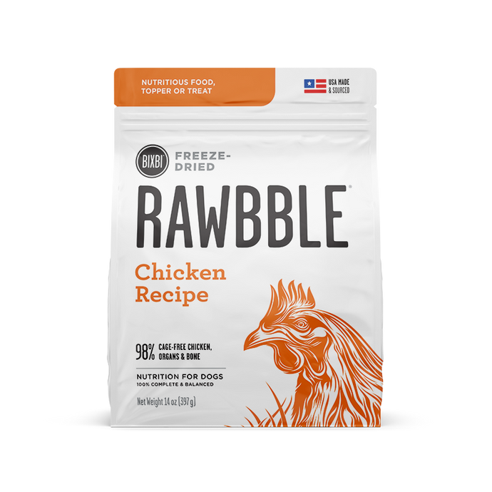 Rawbble FD Chicken for Dogs 5.5oz