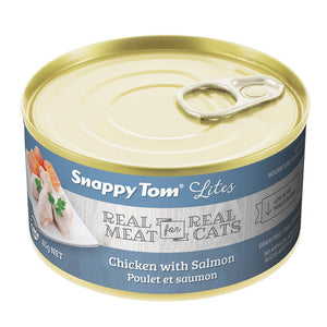 85g Snappy Tom Lite Dinners Chicken & Salmon - Feline