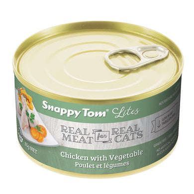 Snappy Tom Lite Dinners Chicken & Veg for Cats 85g