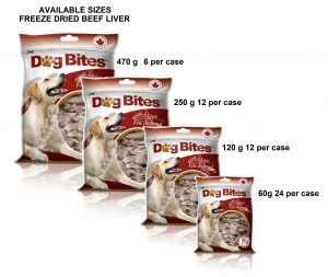Dog Bites Freeze Dried Beef Liver 57g