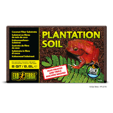 Exo Terra Plantation Soil - Bricks - 8 qt/8.8 L
