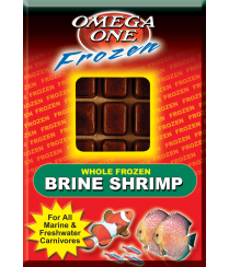Omega One Frozen Brine Shrimp - 3.5 oz
