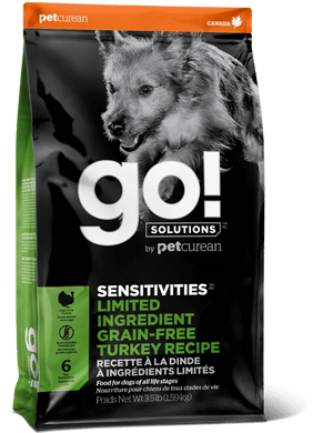 GO Sensitivities LID Grain Free Turkey for Dogs 3.5lb