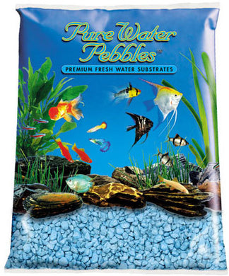 Pure Water Pebbles Heavenly Blue Gravel 25lbs