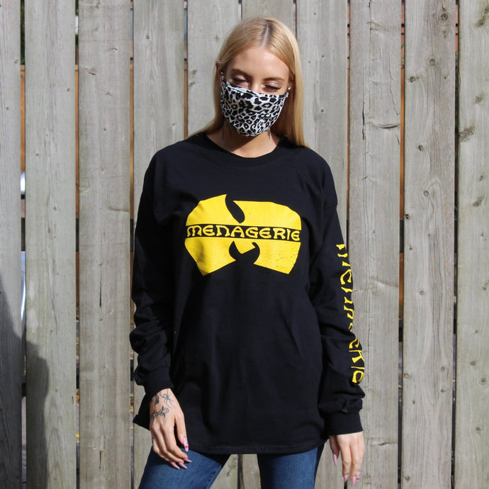Mu-Tang Long Sleeve Black