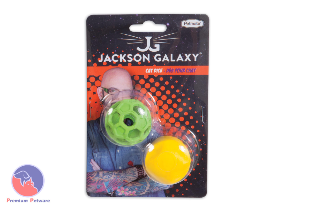Jackson Galaxy Cat Dice Holee Roller
