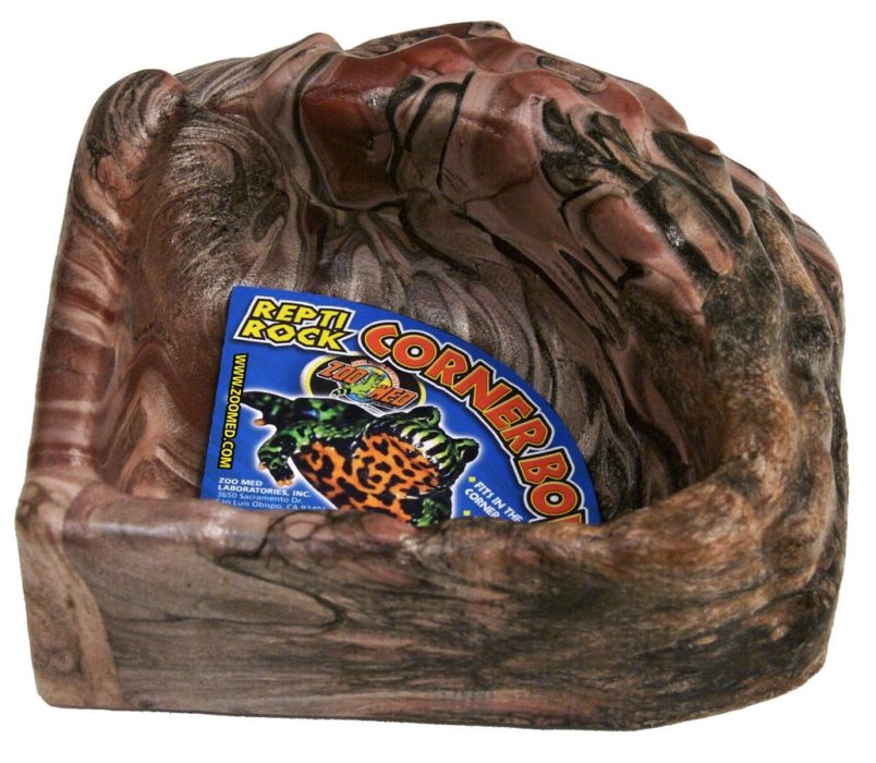 Zoo Med repti rock corner bowl, small