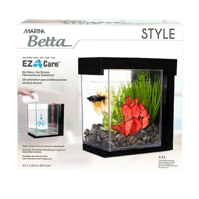 Marina EZ Care Betta Aquarium - 1 Gallon
