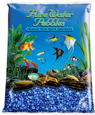 Pure Water Pebbles Marine Blue Gravel 25lbs