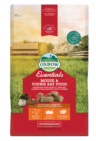 Oxbow Essentials Mouse & Young Rat - 2.5 lb