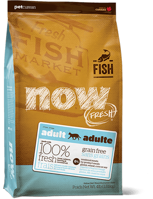 8lb Now Fresh Grain Free Fish Adult for Cats