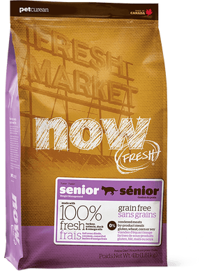 8lb Now Fresh Grain Free Senior for Cats