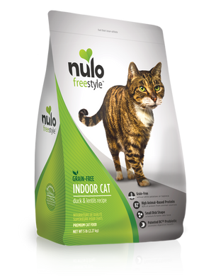 Nulo Freestyle High-Meat Kibble Indoor Cat Duck & Lentils Recipe