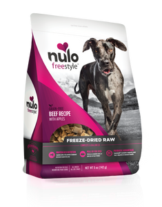 Nulo Freestyle Freeze-Dried Raw Beef with Apples for Dogs 13oz